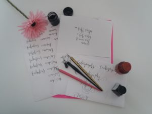 Beginners pack modern calligraphy